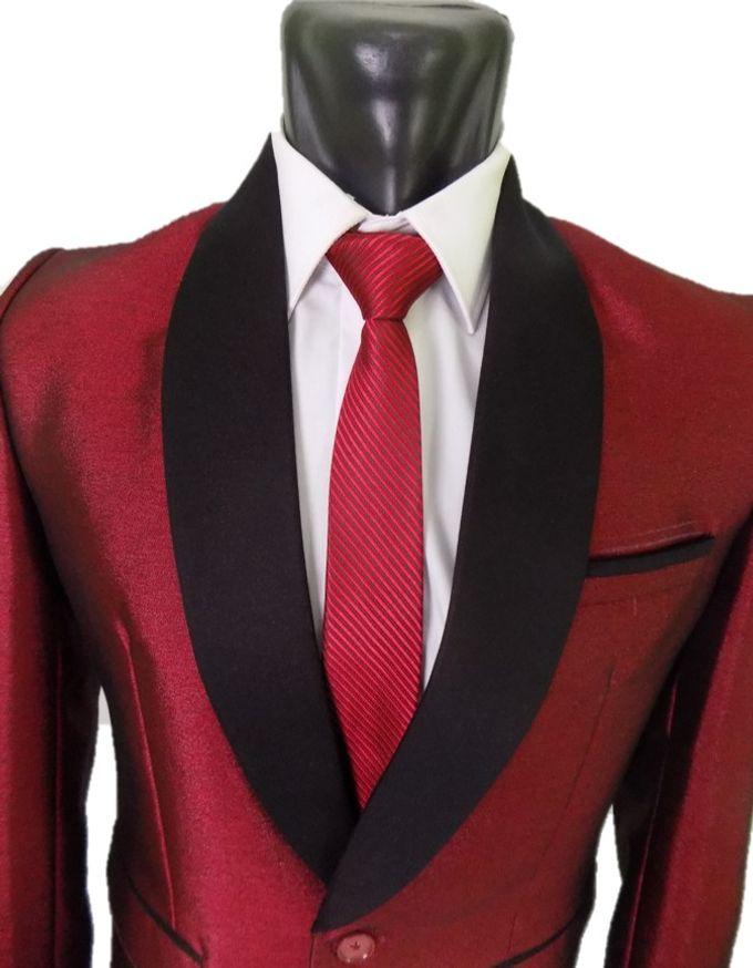 Tuxedo Merah Maroon by Najifa Jas - 005