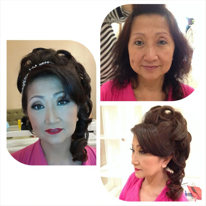 Mom's Make Up & Hair Do by IBELmakeuppro - 017