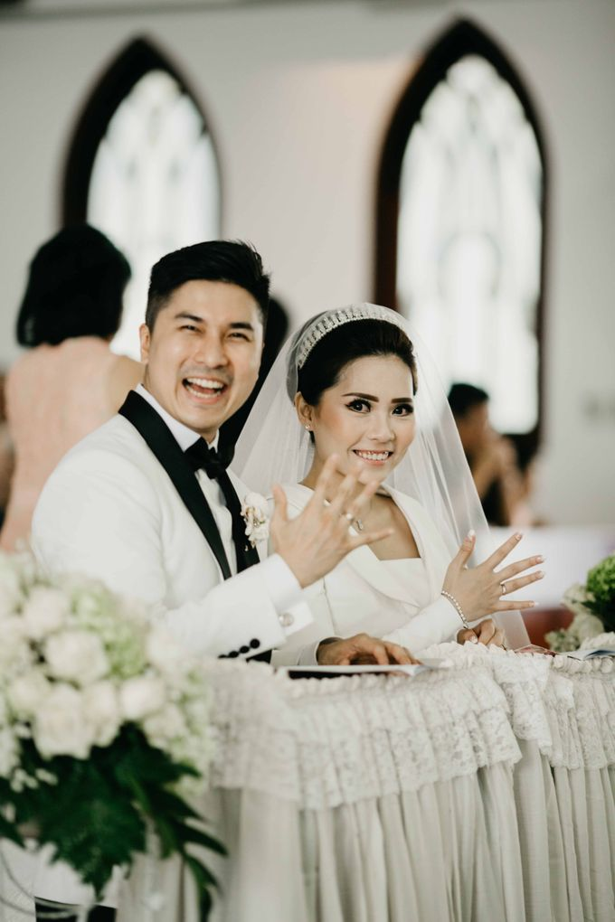 The Wedding of Michael Alinskie & Sherly Fausta by TurquoiSe Organizer - 038