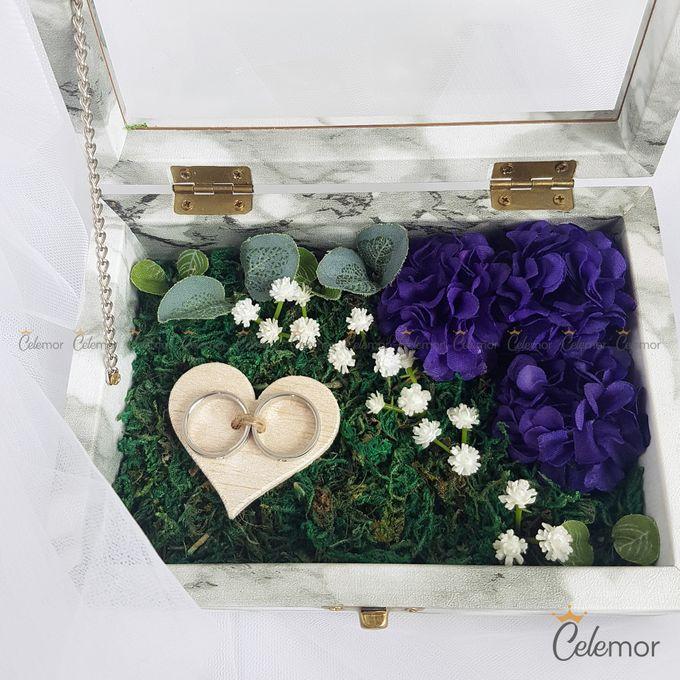 Top View Box - Marble | Wedding Ring Bearer Box Indonesia - Celemor by Celemor - 005