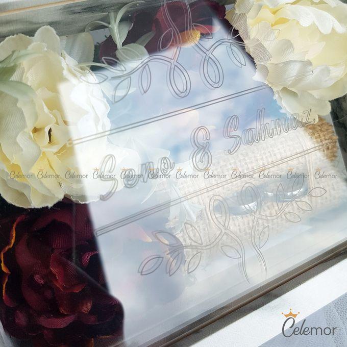 Top View Box - Marble | Wedding Ring Bearer Box Indonesia - Celemor by Celemor - 007