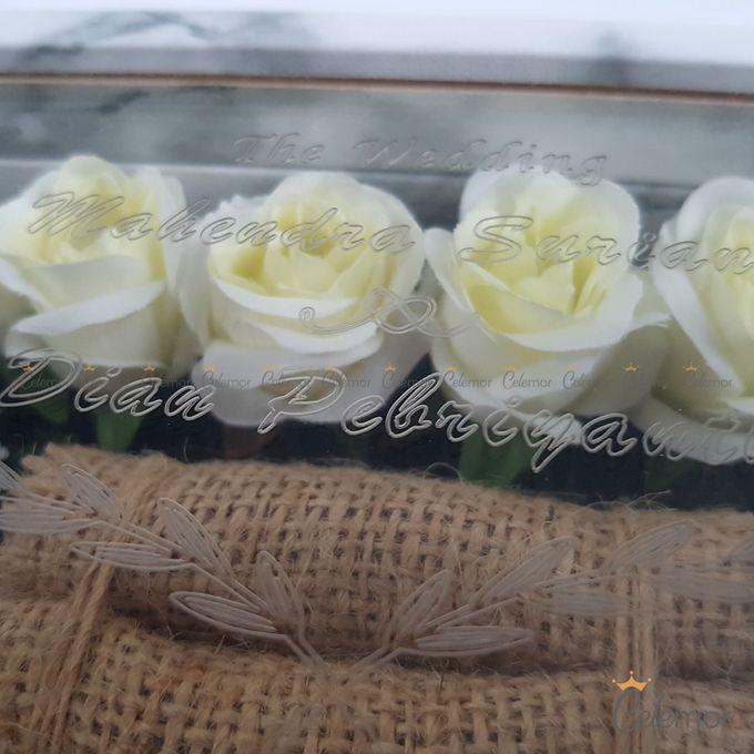 Top View Box - Marble | Wedding Ring Bearer Box Indonesia - Celemor by Celemor - 011