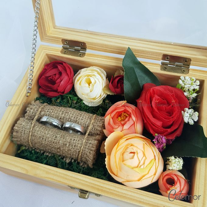 Top View Box - Natural | Wedding Ring Bearer Box Indonesia - Celemor by Celemor - 001