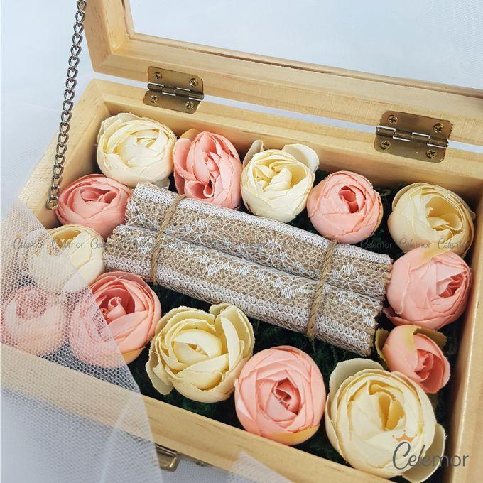 Top View Box - Natural | Wedding Ring Bearer Box Indonesia - Celemor by Celemor - 003