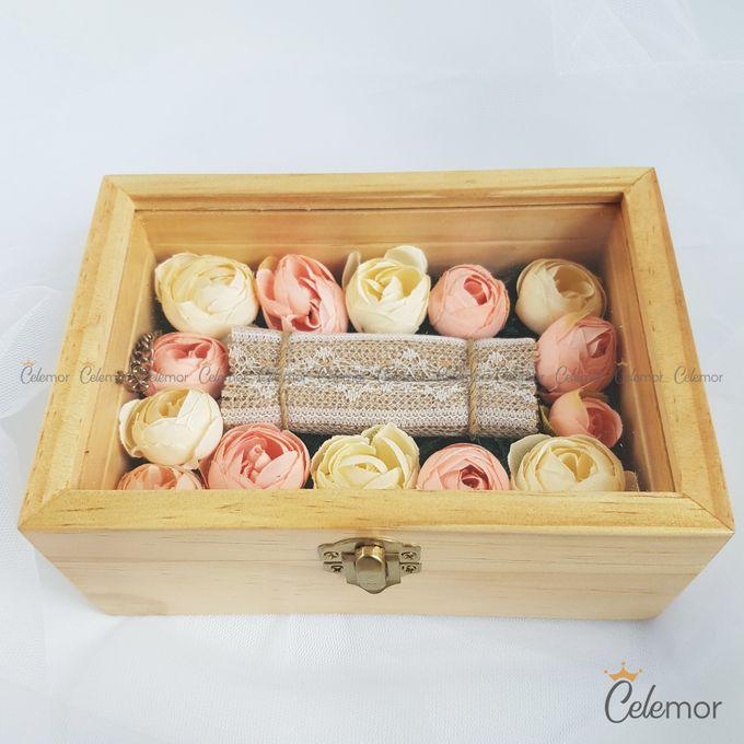 Top View Box - Natural | Wedding Ring Bearer Box Indonesia - Celemor by Celemor - 005