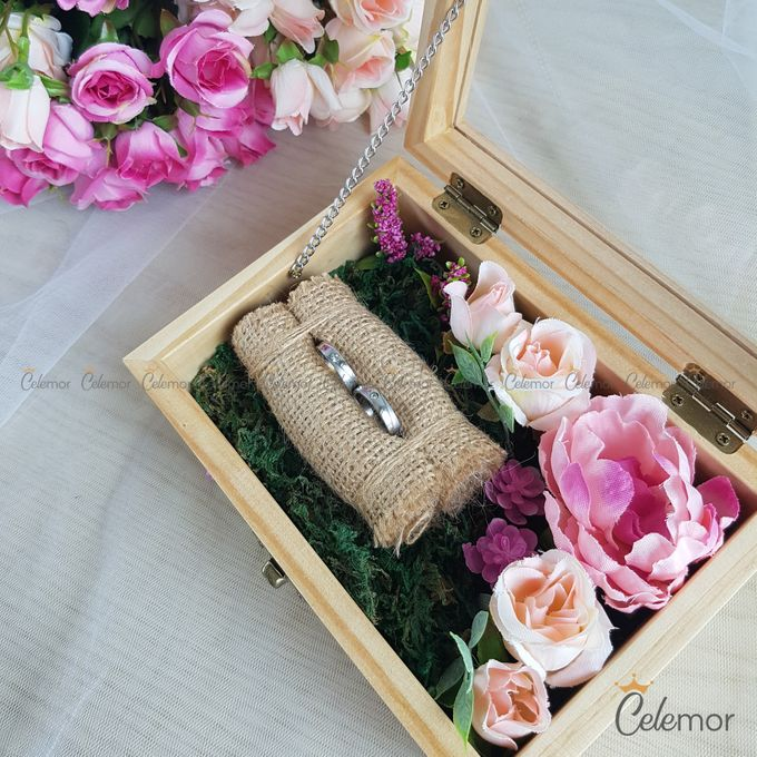 Top View Box - Natural | Wedding Ring Bearer Box Indonesia - Celemor by Celemor - 008
