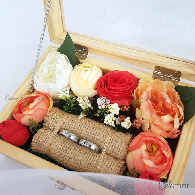 Top View Box - Natural | Wedding Ring Bearer Box Indonesia - Celemor by Celemor - 013