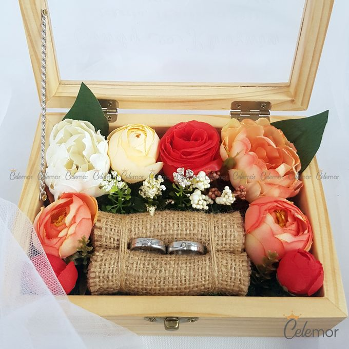 Top View Box - Natural | Wedding Ring Bearer Box Indonesia - Celemor by Celemor - 014