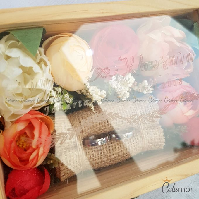 Top View Box - Natural | Wedding Ring Bearer Box Indonesia - Celemor by Celemor - 016