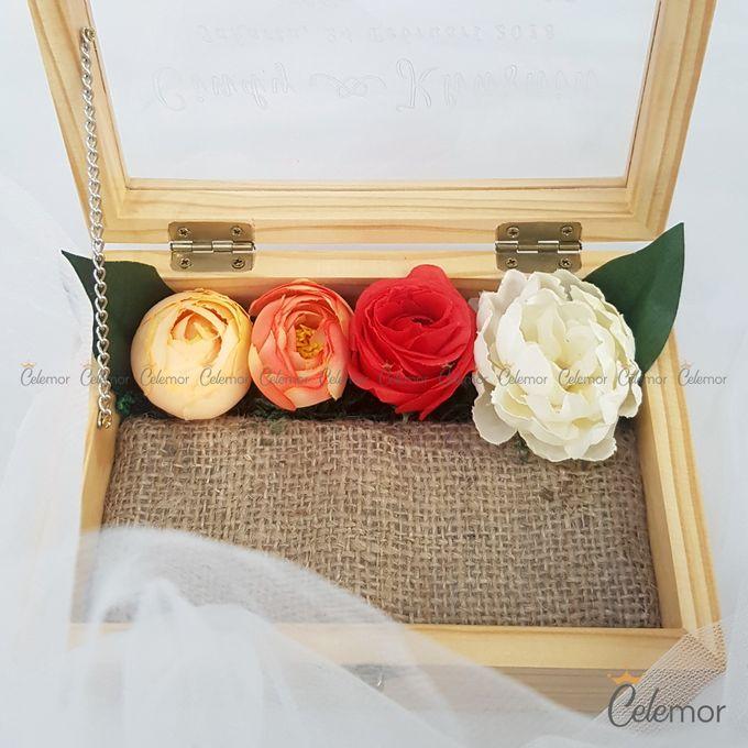 Top View Box - Natural | Wedding Ring Bearer Box Indonesia - Celemor by Celemor - 018