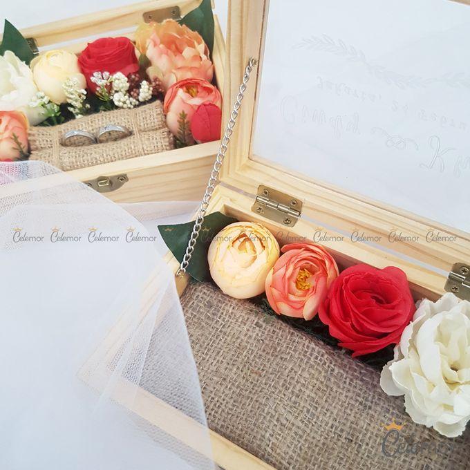 Top View Box - Natural | Wedding Ring Bearer Box Indonesia - Celemor by Celemor - 019