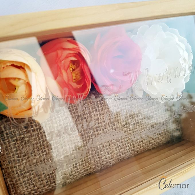 Top View Box - Natural | Wedding Ring Bearer Box Indonesia - Celemor by Celemor - 020