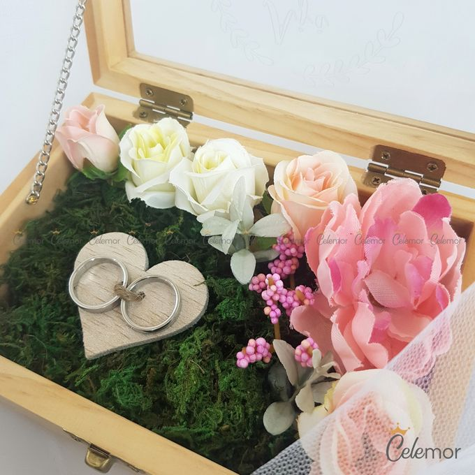 Top View Box - Natural | Wedding Ring Bearer Box Indonesia - Celemor by Celemor - 021