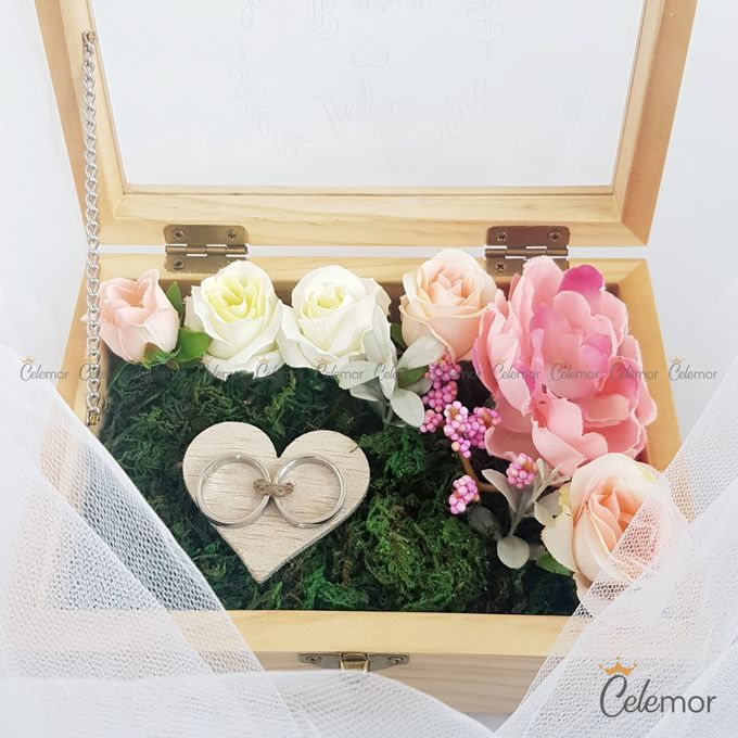Top View Box - Natural | Wedding Ring Bearer Box Indonesia - Celemor by Celemor - 022