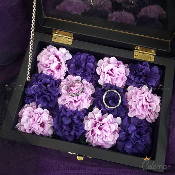 Top View box - Warna | Wedding Ring Bearer Box Indonesia - Celemor by Celemor - 002