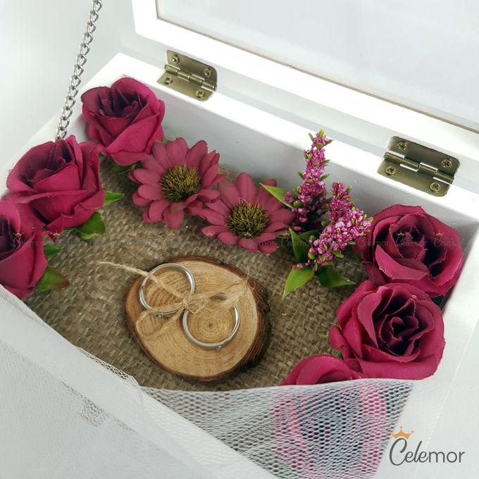 Top View box - Warna | Wedding Ring Bearer Box Indonesia - Celemor by Celemor - 003
