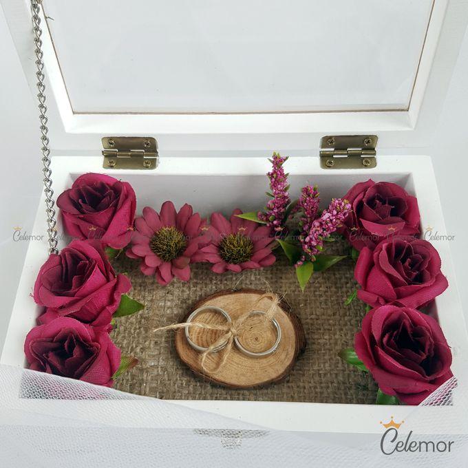 Top View box - Warna | Wedding Ring Bearer Box Indonesia - Celemor by Celemor - 004
