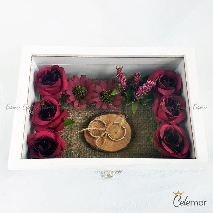 Top View box - Warna | Wedding Ring Bearer Box Indonesia - Celemor by Celemor - 005