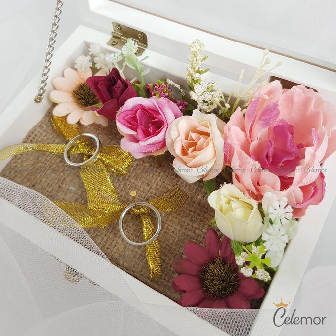 Top View box - Warna | Wedding Ring Bearer Box Indonesia - Celemor by Celemor - 006