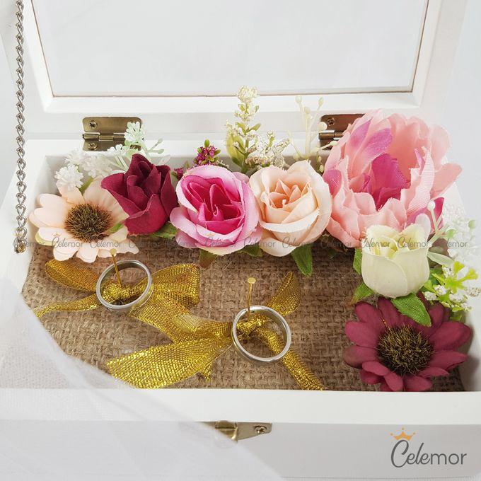 Top View box - Warna | Wedding Ring Bearer Box Indonesia - Celemor by Celemor - 008