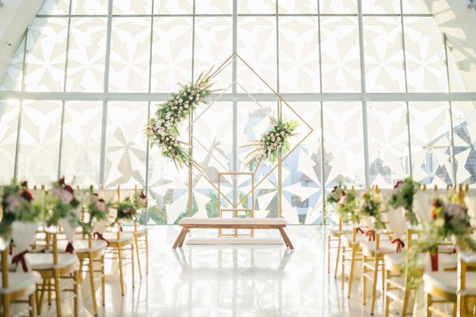 The Wedding of Calvin & Ling ling by Bali Yes Florist - 014