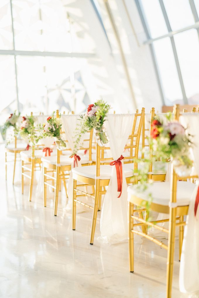 The Wedding of Calvin & Ling ling by Bali Yes Florist - 004