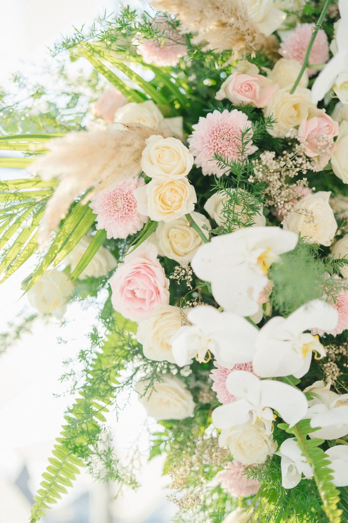 The Wedding of Calvin & Ling ling by Bali Yes Florist - 012