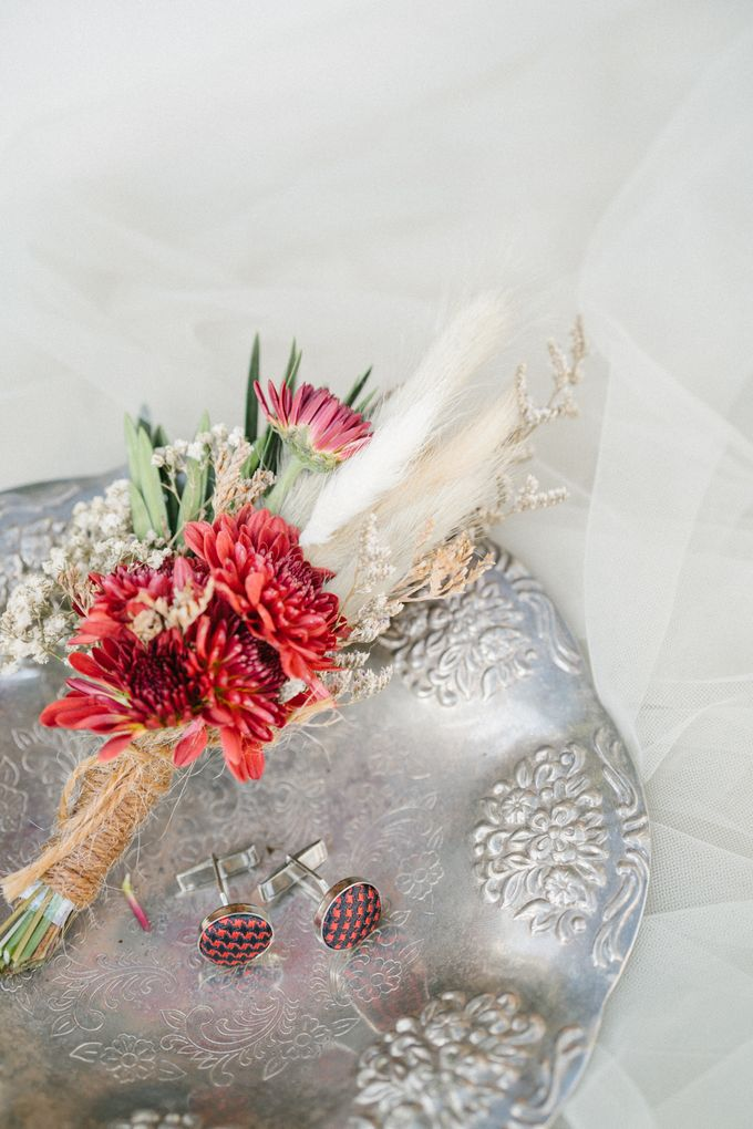 The Wedding of Calvin & Ling ling by Bali Yes Florist - 001