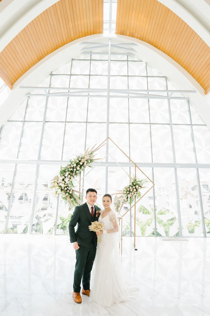 The Wedding of Calvin & Ling ling by Bali Yes Florist - 016