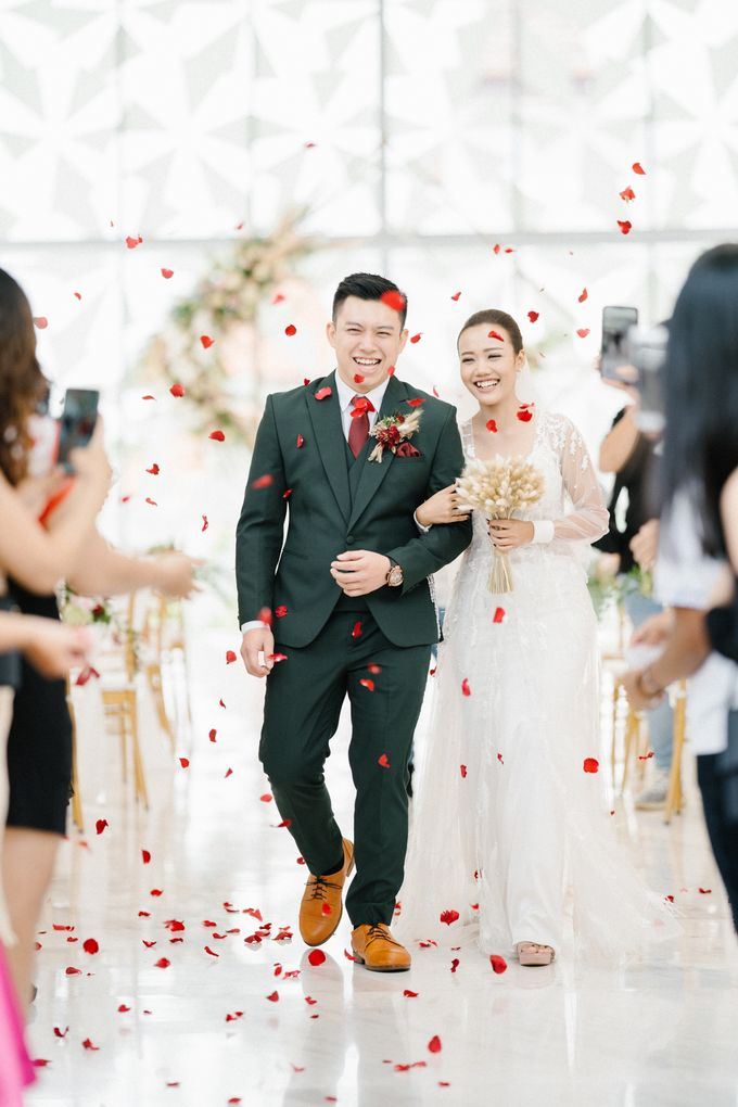 The Wedding of Calvin & Ling ling by Bali Yes Florist - 017