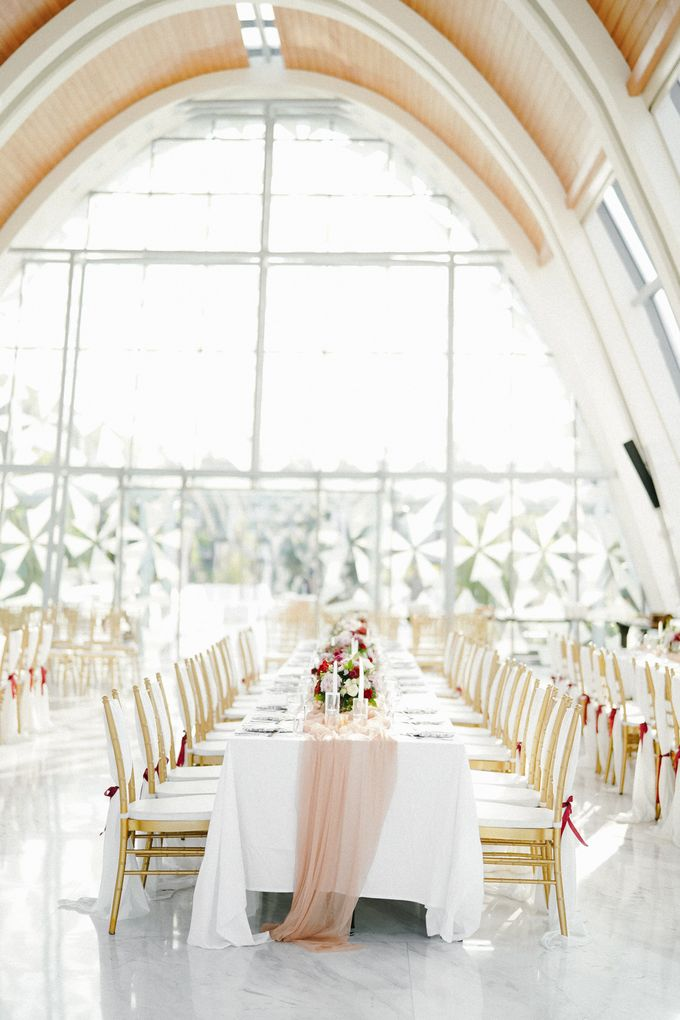 The Wedding of Calvin & Ling ling by Bali Yes Florist - 020