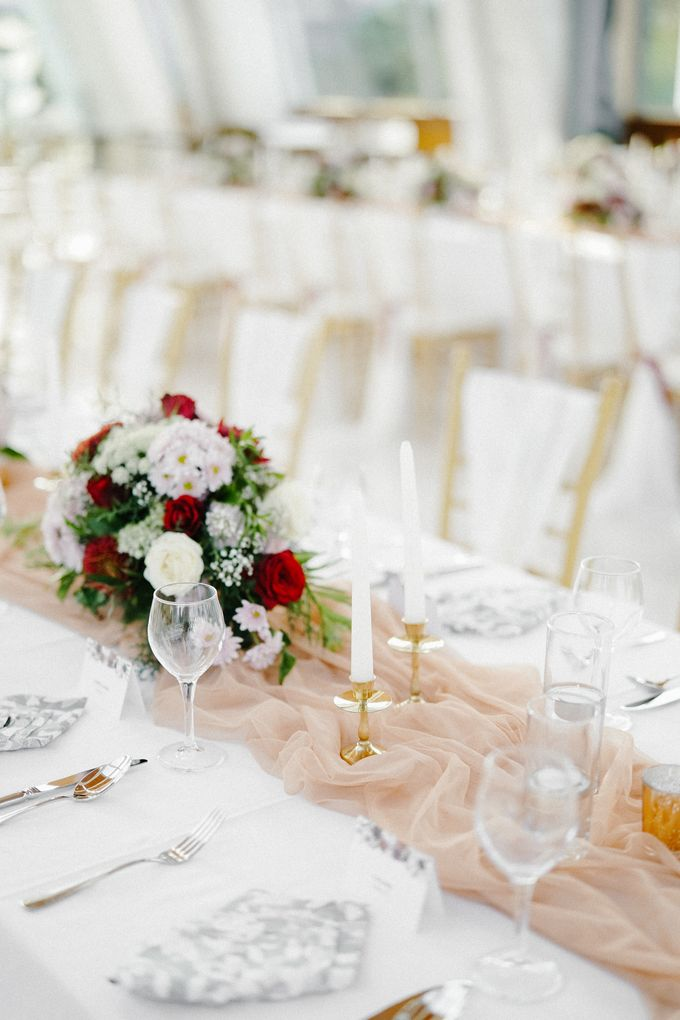 The Wedding of Calvin & Ling ling by Bali Yes Florist - 021