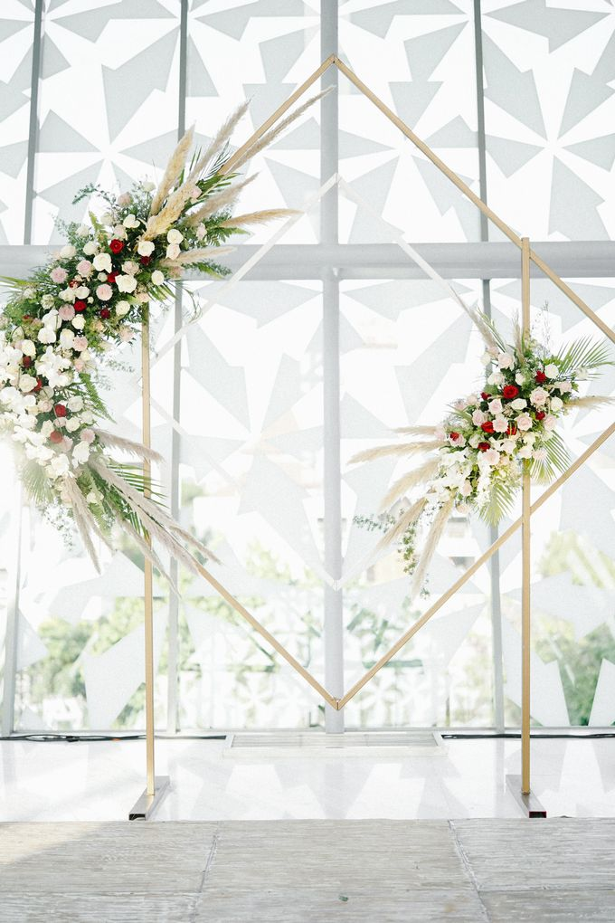 The Wedding of Calvin & Ling ling by Bali Yes Florist - 022
