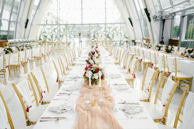 The Wedding of Calvin & Ling ling by Bali Yes Florist - 024