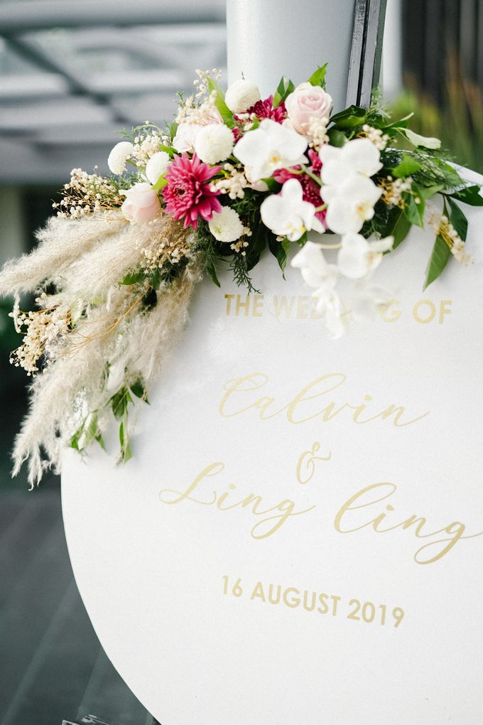The Wedding of Calvin & Ling ling by Bali Yes Florist - 026