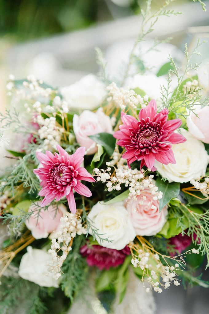 The Wedding of Calvin & Ling ling by Bali Yes Florist - 027