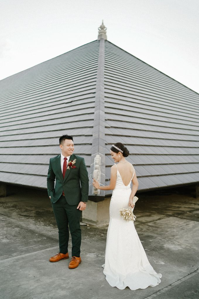The Wedding of Calvin & Ling ling by Bali Yes Florist - 010