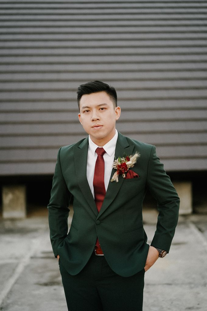 The Wedding of Calvin & Ling ling by Bali Yes Florist - 011