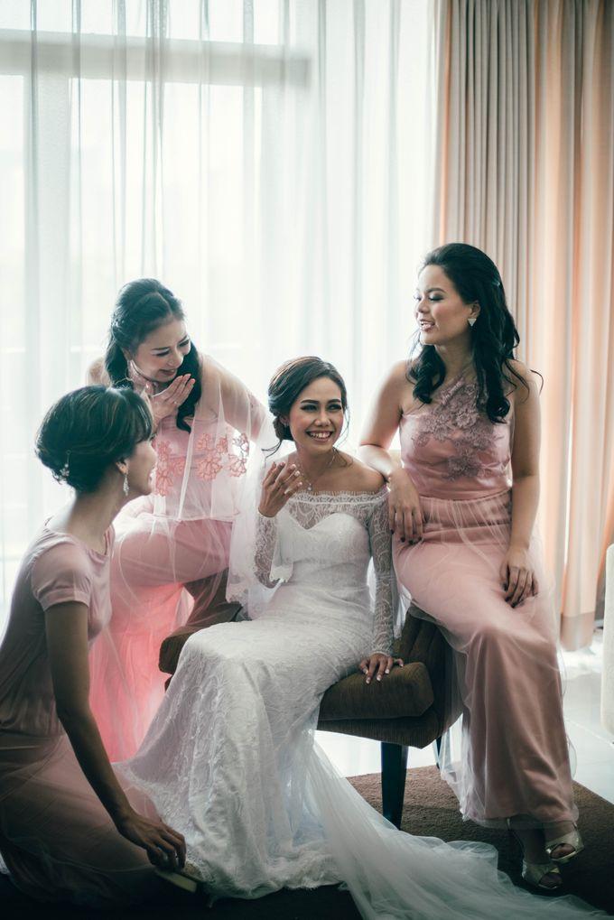 The Wedding Of Yonas And Priska by Chesara Makeup - 002