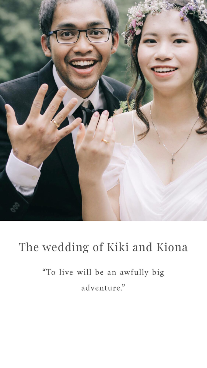 The wedding of Kiki and Kiona by Twenty Two Cakes - 001