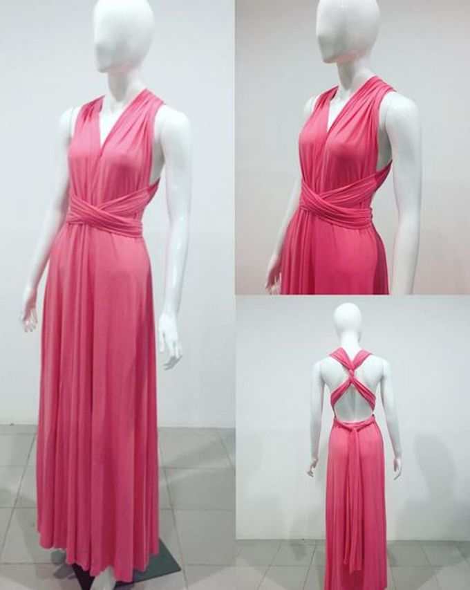 Convertible Bridesmaid Dress by The White Gallery - 006