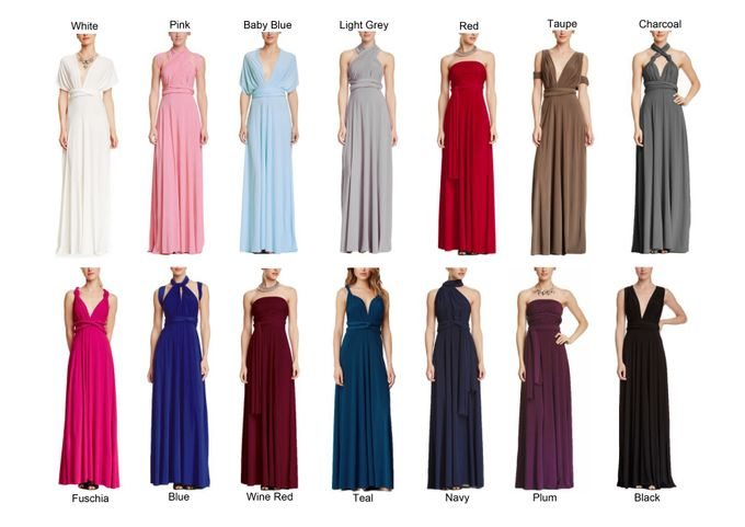 Convertible Bridesmaid Dress by The White Gallery - 010