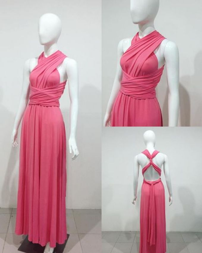 Convertible Bridesmaid Dress by The White Gallery - 005
