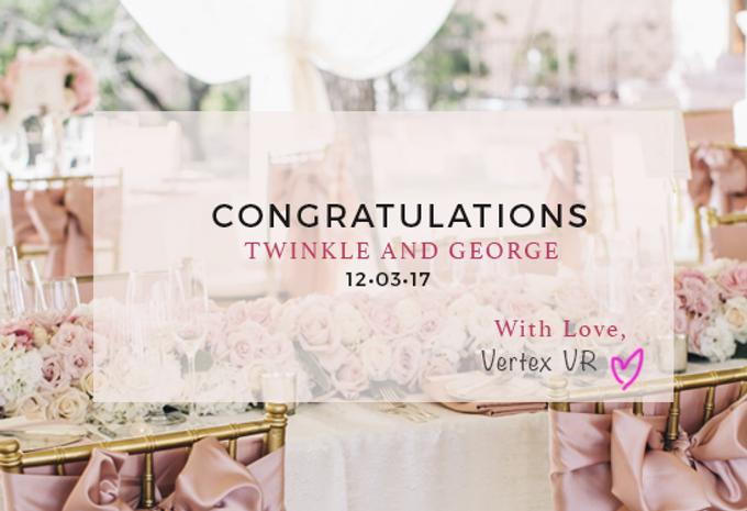 Dream wedding of Twinkle & George in Virtual Reality by Vertex VR Weddings - 004