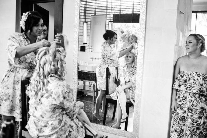 George & Joudy by BALI STAR WEDDING PLANNER - 040