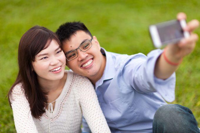 Couple Shoot At Marina Barrage by Gyver Chang Photography - 004