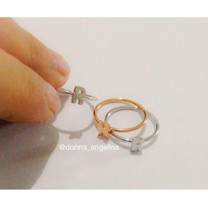 Name & Initial by DA Jewelry - 029