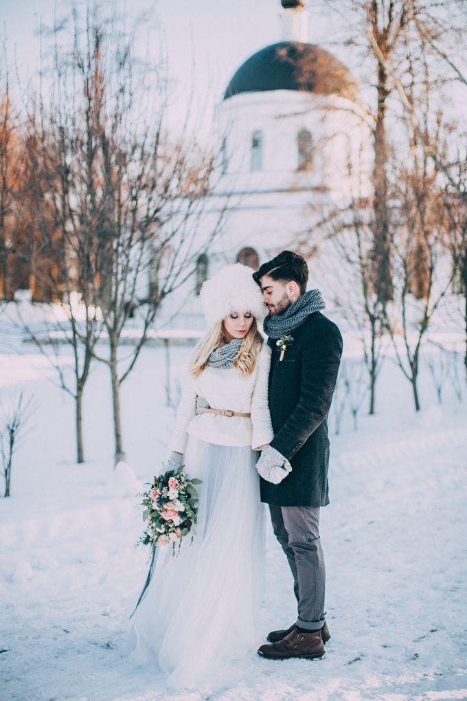 Wedding In Gzhel Style by Marina Nazarova Photographer - 036