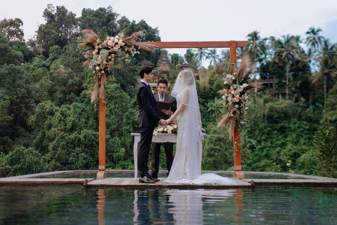 Ceremony at Hanging Garden by Bali Becik Wedding - 014