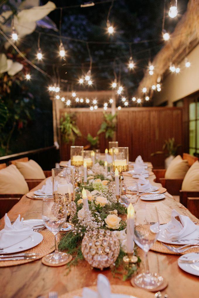 Intimate Dinner by Bali Becik Wedding - 018